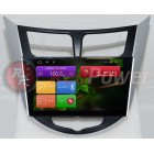 Штатная магнитола Red Power для Hyundai Accent RB Full Touch RP21067B S210 Android 4,4