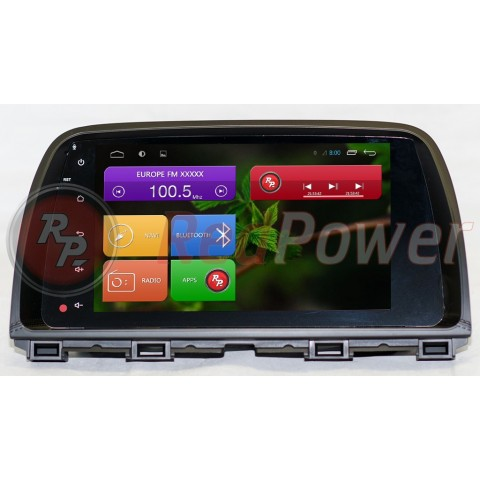 Штатная магнитола Red Power для Mazda CX 5 Full Touch RP21112B S210 Android 4,4