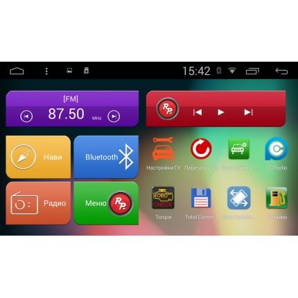 Штатная магнитола Red Power для Hyundai Santa Fe DM RP21210 S210 Android 4,4