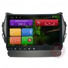 Штатная магнитола Red Power для Hyundai Santa Fe DM Full Touch RP21210B S210 Android 4,4