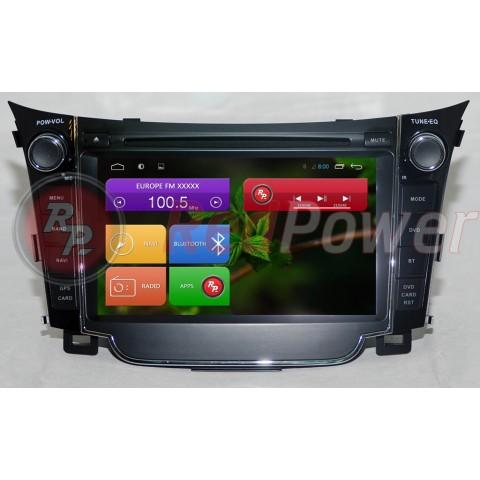 Штатная магнитола Red Power для Hyundai i30 New RP21073 S210 Android 4,4