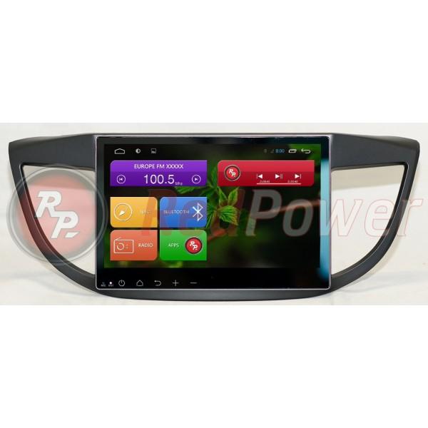 Штатная магнитола Red Power для Honda CR-V 2012+ Full Touch RP21111B S210 Android 4,4