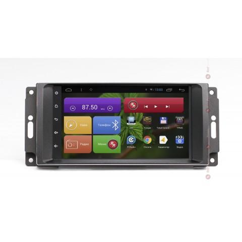 Штатная магнитола Red Power для Chrysler/Dodge/Jeep RP21216B S210 Android 4,4