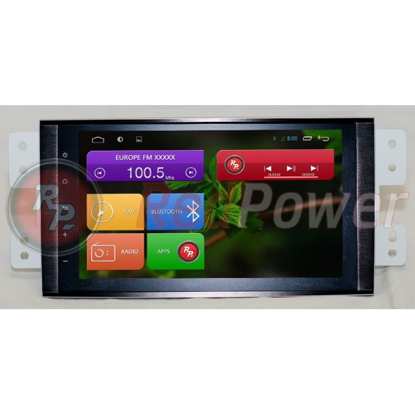 Штатная магнитола Red Power для Kia Mohave Full Touch RP21222B S210 Android 4,4