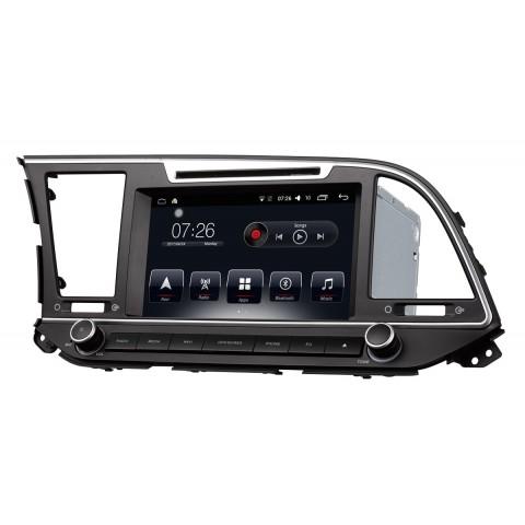 Штатная магнитола AudioSources T10-8871 для Hyundai Elantra 2016