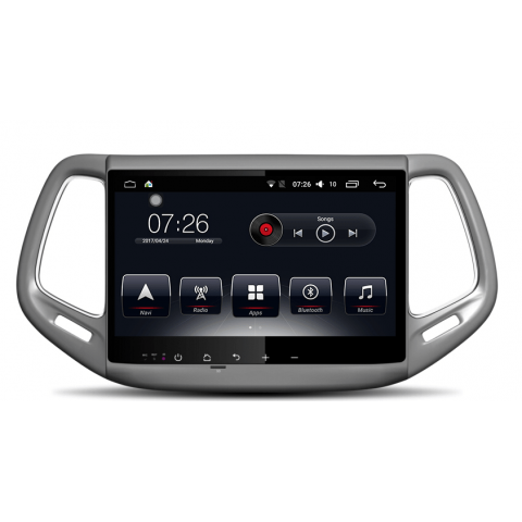 Штатная магнитола AudioSources T10-1712 для Jeep Compass 2017