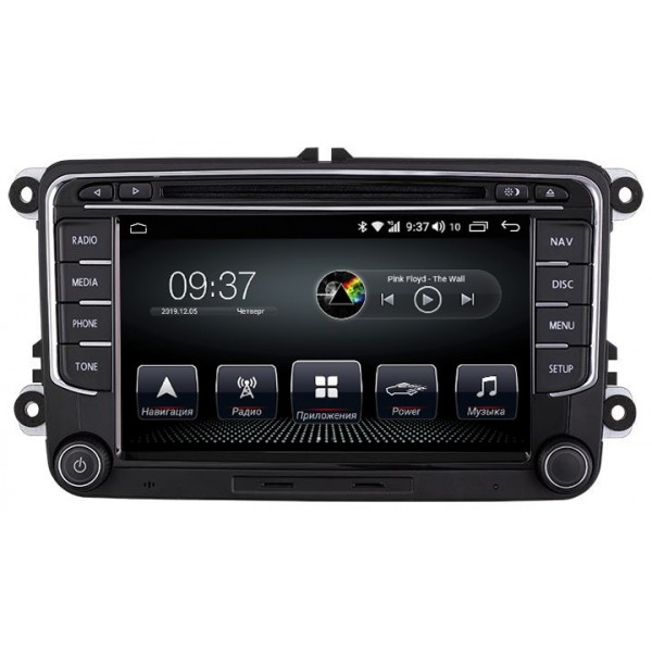 Штатная магнитола AudioSources T200-611SR для Volkswagen Passat, Golf, Jetta, Tiguan, Touran, Polo, Amarok, Caddy, T5, T6
