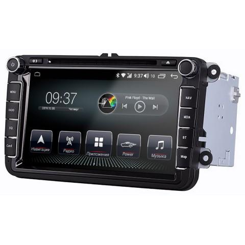 Штатное головное устройство AudioSources T200-810SR для Volkswagen Passat B6; Passat B7; Passat B8 (USA); Passat CC; Golf V; Golf VI; Golf GTI; Jetta V (2005-2010); Jetta VI (2010-2018); Tiguan I (2007-2016); Touran I (2003-2014); Polo; Caddy; Scirocco; E