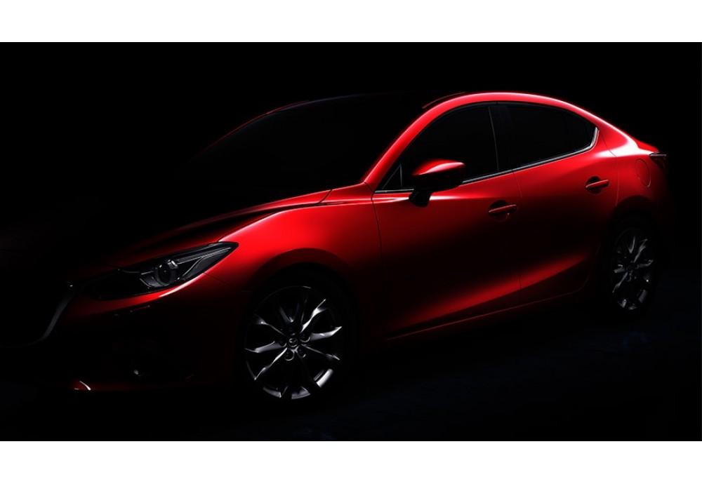 Установка камеры BGT-28013CCD на Mazda 3 2013+