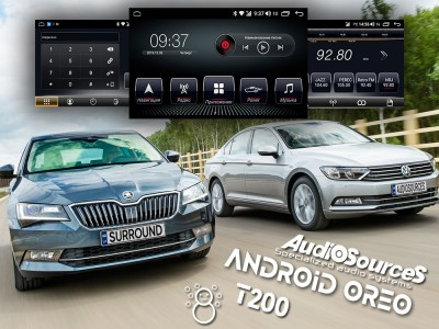 <Анонс нової платформи T200 від AudioSources для Skoda / Volkswagen