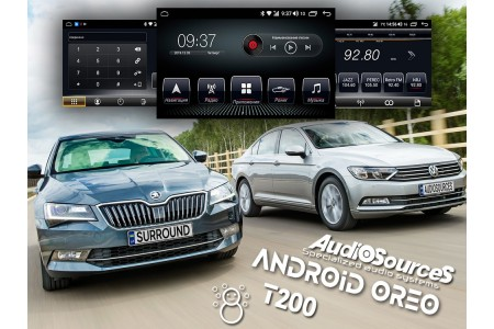 Анонс новой платформы T200 от AudioSources для Skoda / Volkswagen