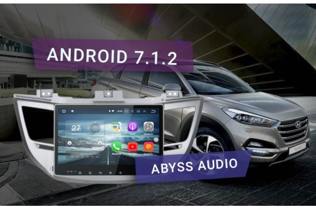 Обзор магнитолы Abyss Audio для Tucson на Android 7.1