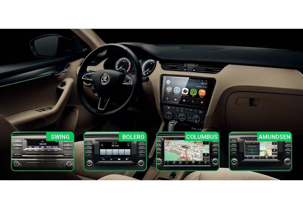 Skoda Octavia A7 – народный любимец. Плюсы и минусы автомобиля. Обзор оригинальных мультимедийных магнитол, и варианты их замены.