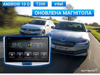 <Магнитола AudioSources T200 для Volkswagen и Skoda теперь на Android 10 Q