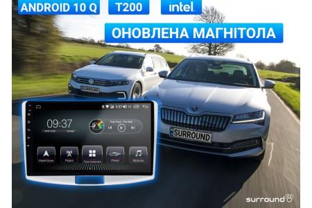 Магнитола AudioSources T200 для Volkswagen и Skoda теперь на Android 10 Q