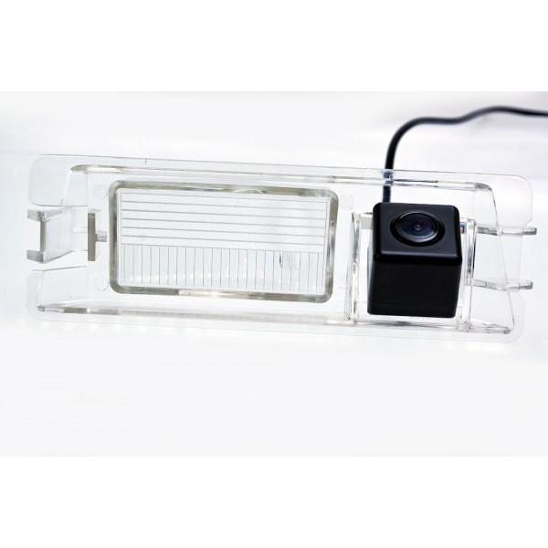 Камера заднего вида Fighter CS-HCCD+FM-55 для Nissan Micra