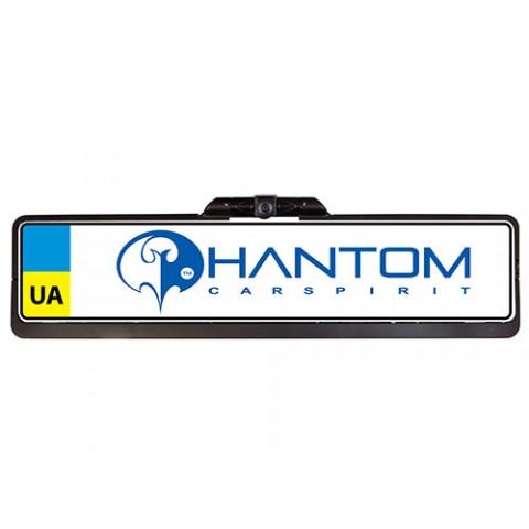 Камера в рамке номерного знака PHANTOM CAM-0350U универсальная