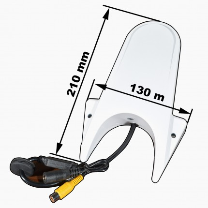 MCM-10 универсальная камера на крышу (Sprinter) белая