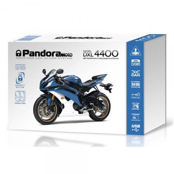 Мотосигнализация Pandora Moto DXL 4400 (без сирены)