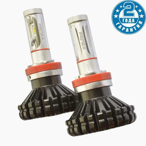 LED лампы для автомобиля: Prime-x KC H27