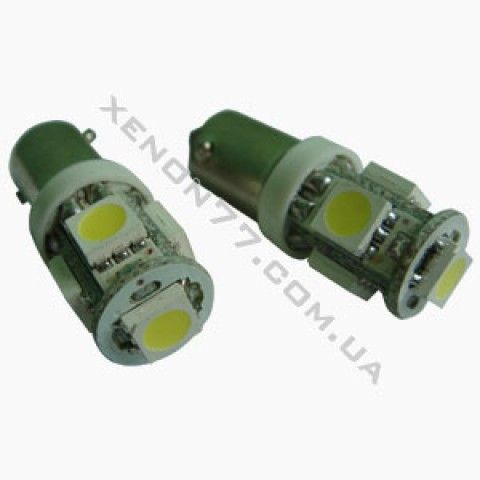 T8.5-5 белый  светодиод