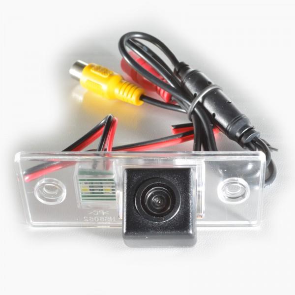 Камера заднего вида Prime-X (Skoda Fabia I-II (1999-2013), Yeti (2009-2013) CA-9583