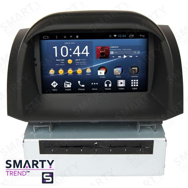 Штатная магнитола Smarty Trend для Ford Fiesta - Android 7.1