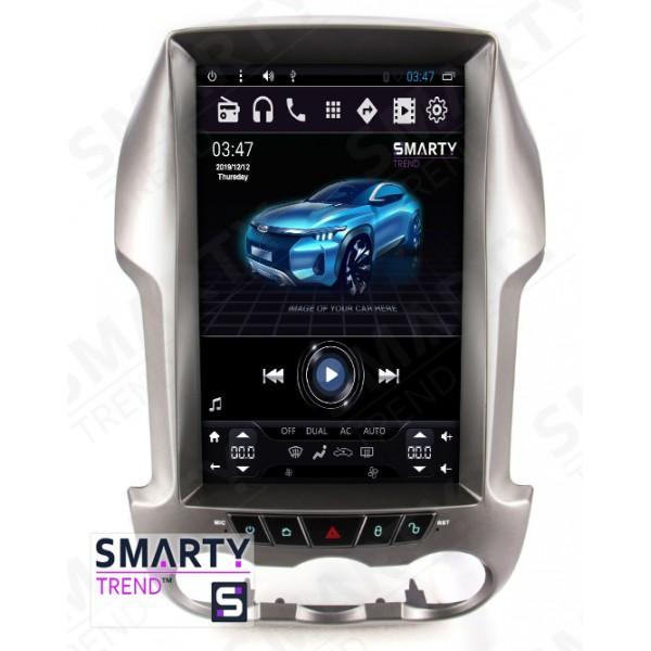 Штатная магнитола Smarty Trend для Ford Ranger / F250 (Tesla Style) - Android 6.0