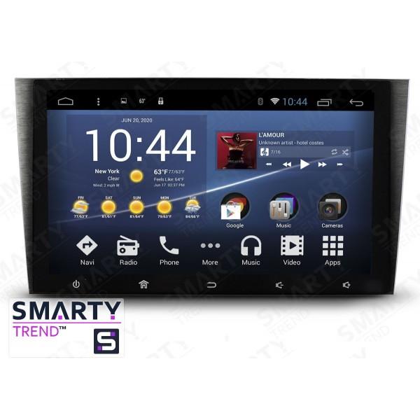 Штатная магнитола Smarty Trend для Honda CR-V 2006-2011 - Android 7.1