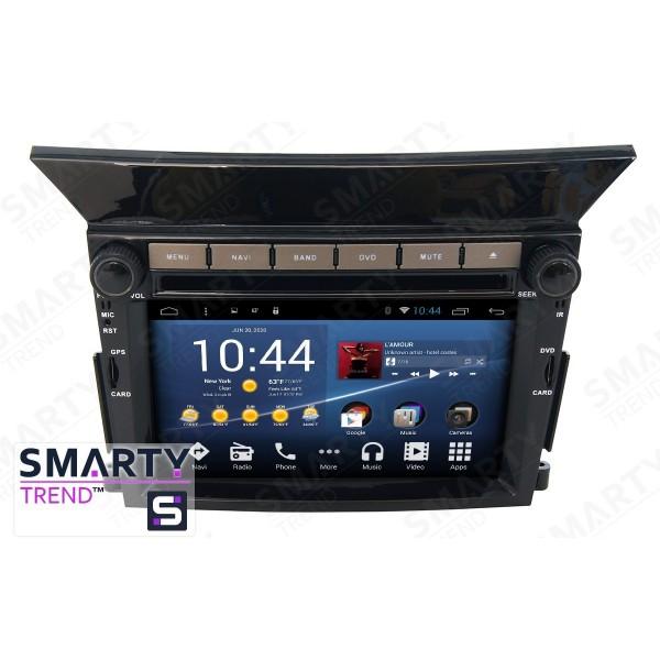 Штатная магнитола Smarty Trend для Honda Pilot - Android 8.1 (9.0)