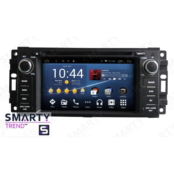 Штатная магнитола Smarty Trend для Jeep Grand Cherokee - Android 8.1 (9.0)