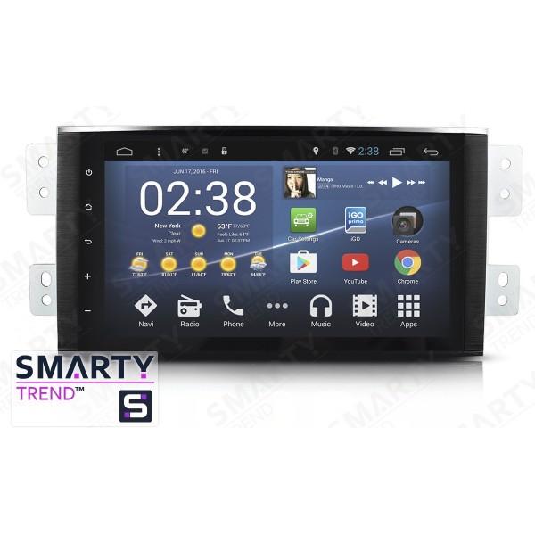 Штатная магнитола Smarty Trend для KIA Mohave - Android 7.1