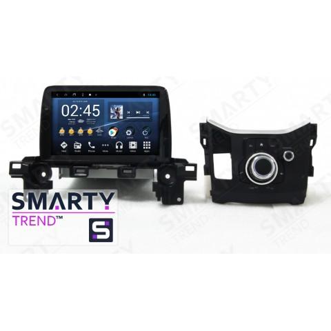 Штатная магнитола Smarty Trend ST8U-516K9084 для Mazda CX5 на Android 8.1.0 Oreo (обновление до Android 9.0 P)