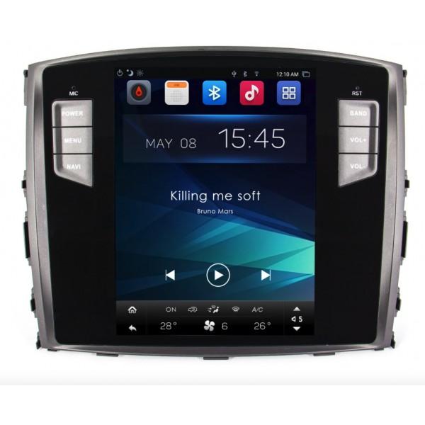 Штатная магнитола Smarty Trend для Mitsubishi Pajero (Tesla Style) - Android 6.0