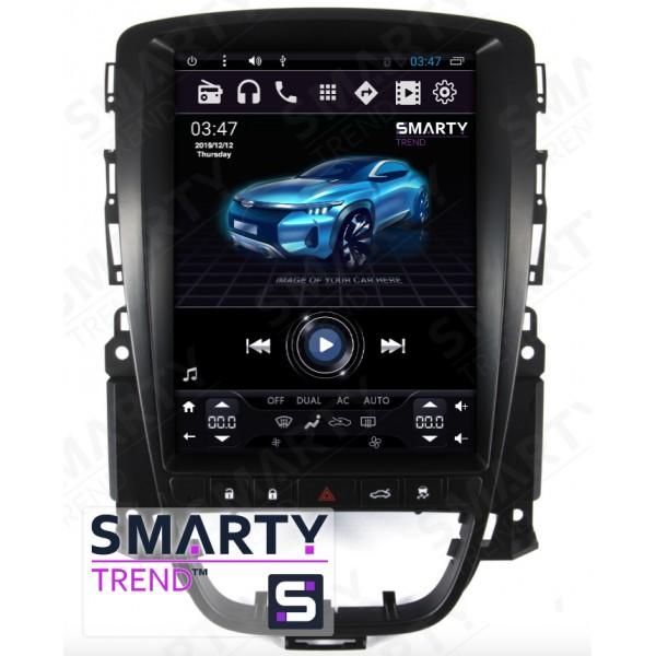 Штатная магнитола Smarty Trend для Opel Astra J 2010-2014 (Tesla Style) - Android 6.0