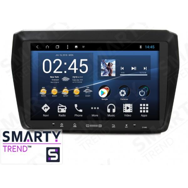 Штатная магнитола Smarty Trend для Suzuki Swift / Dzire - Android 8.1 (9.0)