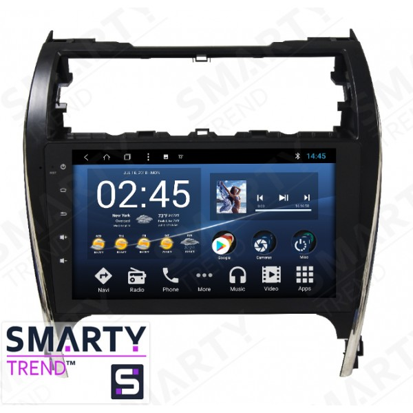 Штатная магнитола Smarty Trend для Toyota Camry 2012 (Middle East / America) - Android 8.1 (9.0)