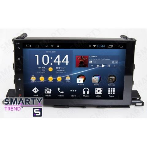 Штатная магнитола Smarty Trend ST3P2-516PK2698 для Toyota Highlander 2014-2018 на Android 7.1.2 (Nougat)