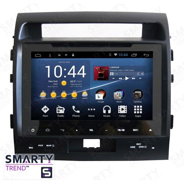 Штатная магнитола Smarty Trend для Toyota Land Cruiser 200 2008-2015 - Android 7.1
