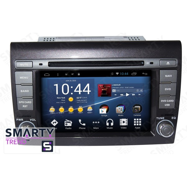 Штатная магнитола Smarty Trend для Fiat Bravo 2007-2014 - Android 8.1 (9.0)