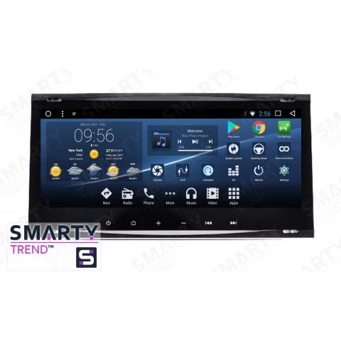 Штатная магнитола Smarty Trend ST3PW2-516P5703 для Ford Kuga 2008-2012 на Android 7.1.2 (Nougat)