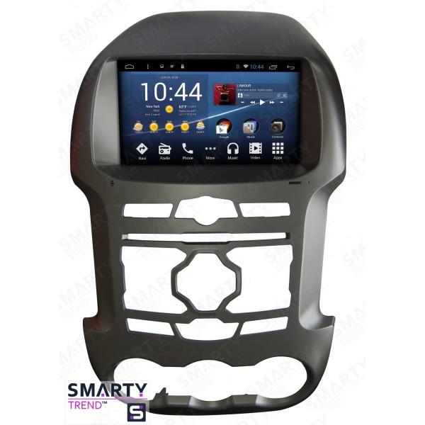 Штатная магнитола Smarty Trend для Ford Ranger - Android 8.1 (9.0)