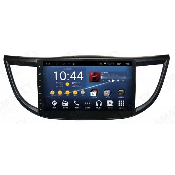 Штатная магнитола Smarty Trend для Honda CR-V 2012-2014 - Android 7.1