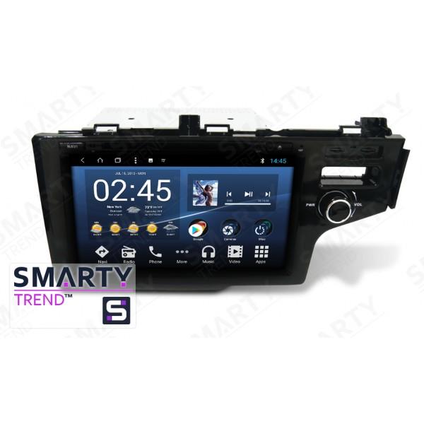 Штатная магнитола Smarty Trend для Honda Fit / Jazz - Android 8.1 (9.0)