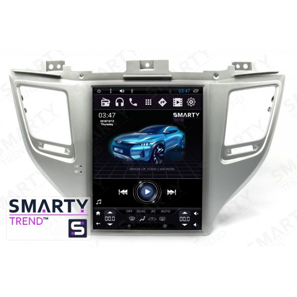 Штатная магнитола Smarty Trend для Hyundai Tucson 2016 (Tesla Style) - Android 6.0
