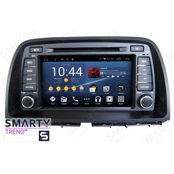 Штатная магнитола Smarty Trend для Mazda CX5 - Android 8.1 (9.0)