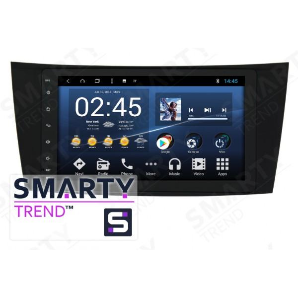 Штатная магнитола Smarty Trend для Mercedes-Benz E-Class (W211) - Android 8.1 (9.0)