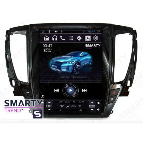 Штатная магнитола Smarty Trend ST8UT-516K12119 для Mitsubishi Pajero Sport 2015+ на Android 6.0.1 (Marshmallow)