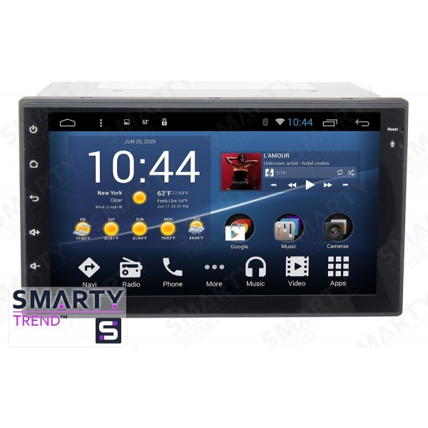 Штатная магнитола Smarty Trend для Nissan Juke 2010-2014 - Android 7.1
