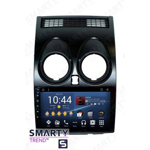 Штатная магнитола Smarty Trend ST3P2-516P0264 для Nissan Qashqai 2006-2014 на Android 7.1.2 (Nougat)